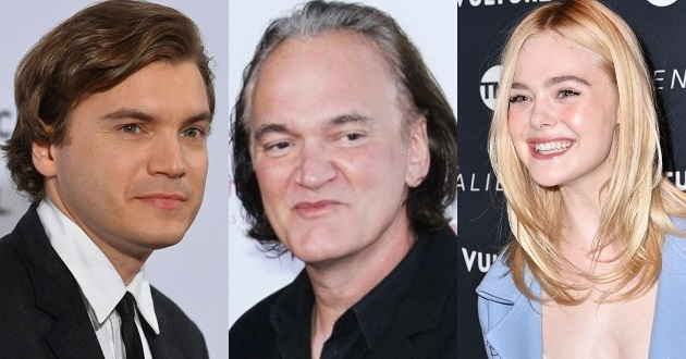 Emile Hirsch e Dakota Fanning no elenco de Once Upon A Time In Hollywood