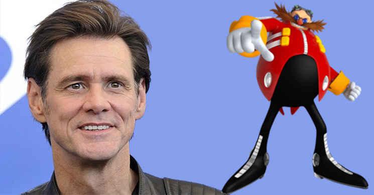 Jim Carrey em negociações para o elenco de Sonic the Hedgehog