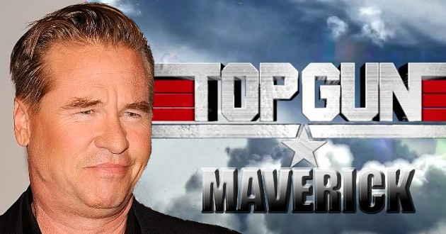 Val Kilmer no elenco de Top Gun: Maverick
