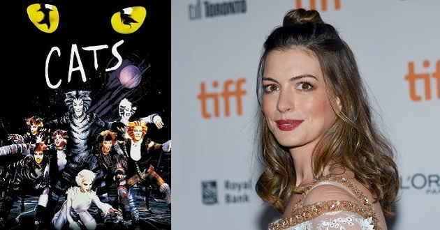 Anne Hathaway em negociações para uma adaptação ao grande ecrã do musical