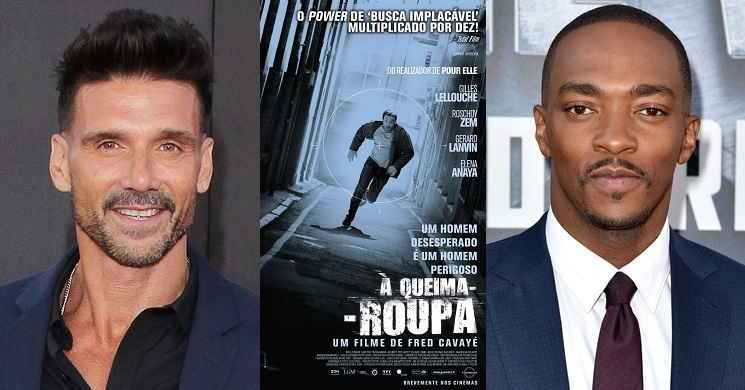 Frank Grillo e Anthony Mackie serão os protagonistas do remake de