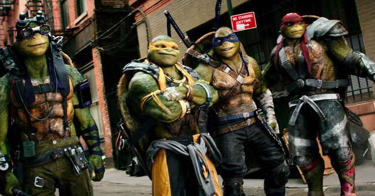 Novo filme de Tartarugas Ninja Heróis Mutantes