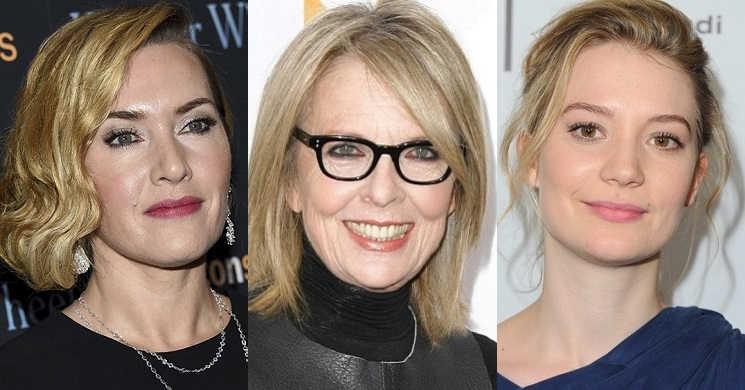 Kate Winslet, Diane Keaton e Mia Wasikowska juntas no elenco de
