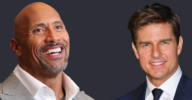 Dwayne Johnson e Tom Cruise interessado em unirem-se num filme de ação