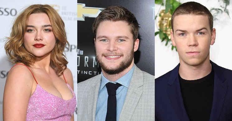 Florence Pugh, Jack Reynor e Will Poulter no elenco do novo filme do realizador de