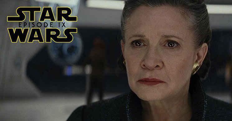 Carrie Fisher vai aparecer em Star Wars: Episode IX