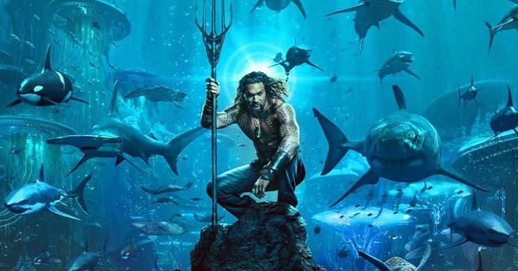 Jason Mamoa é Aquaman no primeiro trailer legendado em português