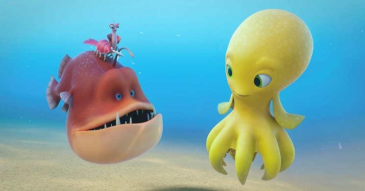 Trailer Português da animação de Deep: Aventura no Fundo do Mar