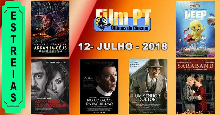 Estreias de filmes nos cinemas portugueses: 12 de julho de 2018