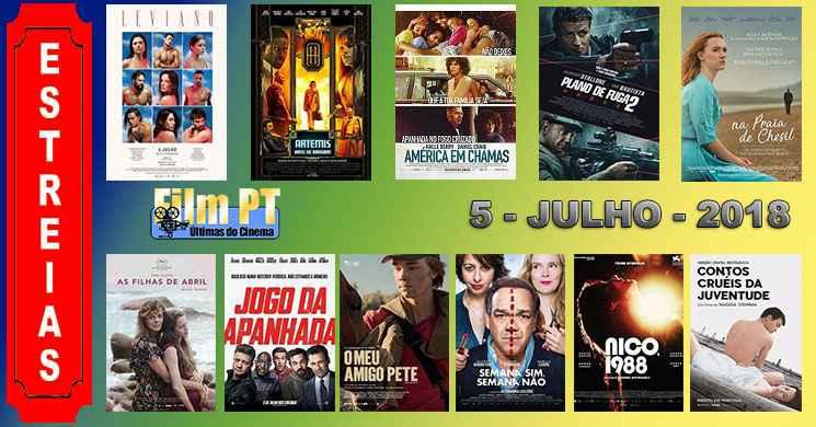Estreias de filmes nos cinemas portugueses: 5 de julho de 2018