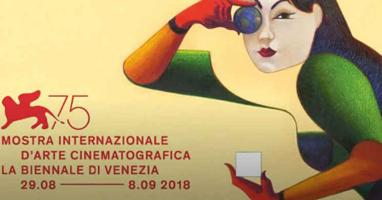 Divulgada a programação oficial da 75ª edição do Festival de Cinema de Veneza