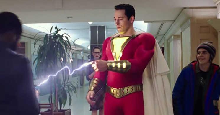Zachary Levi é um divertido super-herói no primeiro teaser trailer português de
