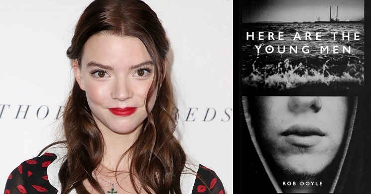 Anya Taylor-Joy será protagonista do drama Here Are the Young Men
