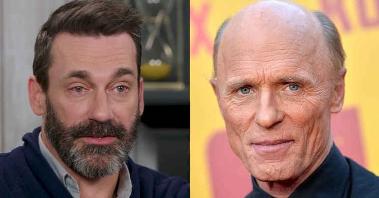Jon Hamm e Ed Harris no elenco de Top Gun: Maverick