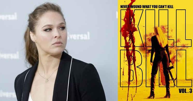Ronda Rousey deseja trabalhar com Quentin Tarantino no terceiro filme de
