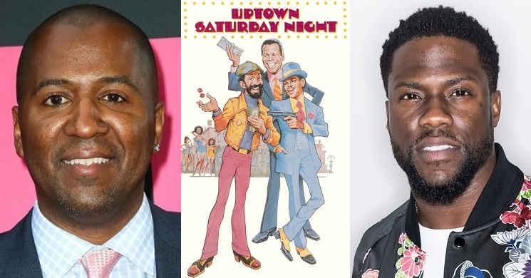 Malcolm D. Lee e Kevin Hart no remake de Uptown Saturday Night