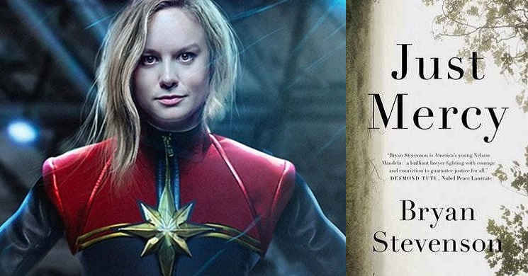 Brie Larson no protagonismo de Just Mercy