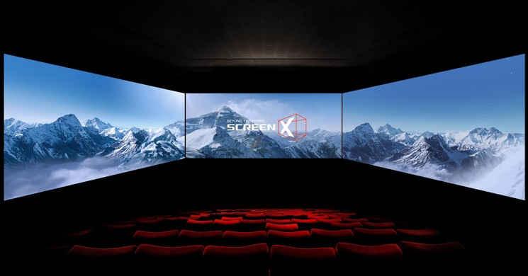 ScreenX: Cinemas estão a adotar a tecnologia para combaterem serviços de streaming