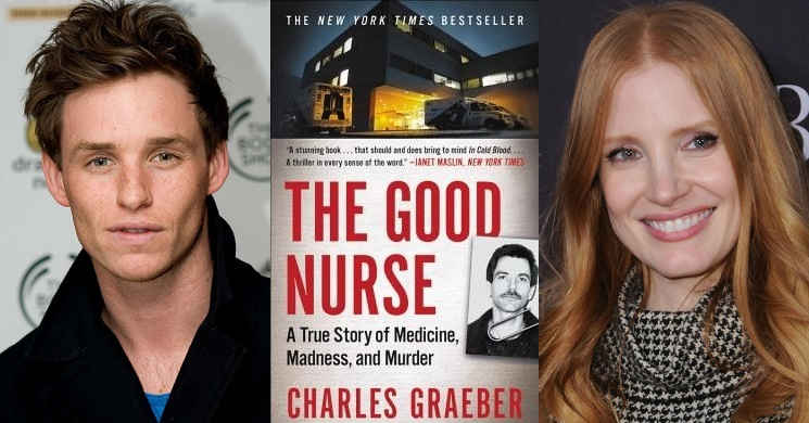 Eddie Redmayne e Jessica Chastain em negociações para protagonizarem The Good Nurse