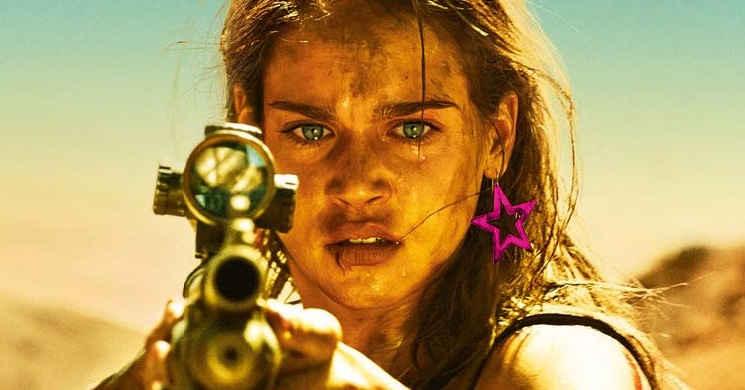 O sabor da vingança de uma mulher. Trailer português do thriller de ação e terror