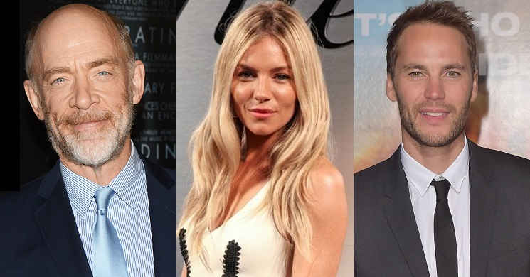 J.K. Simmons, Sienna Miller e Taylor Kitsch no elenco do thriller
