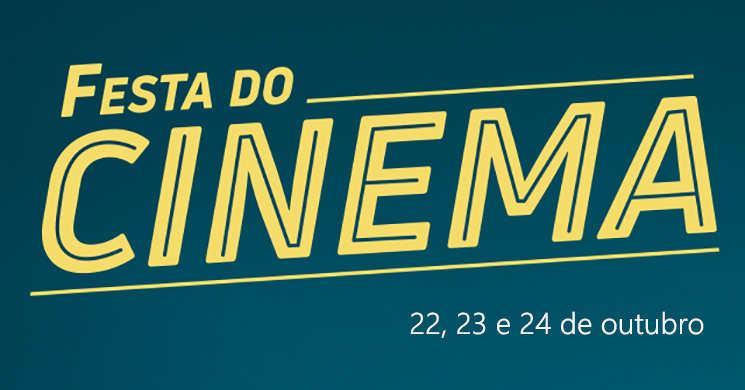 Festa do Cinema 2018: Bilhetes mais baratos de 22 a 24 de outubro