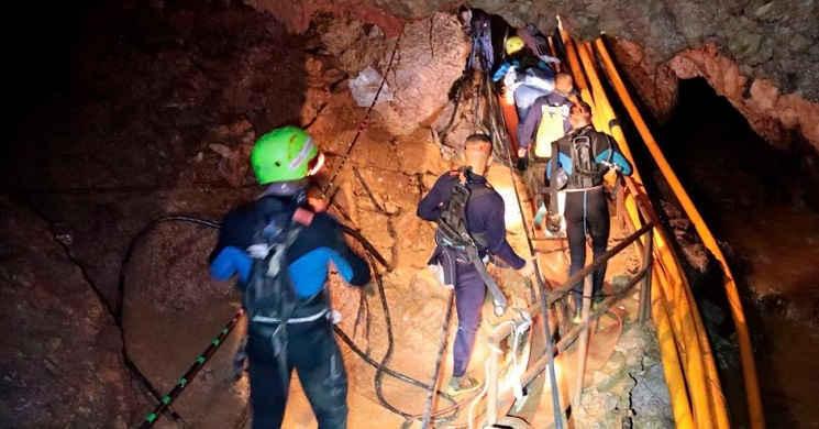 Universal tem em desenvolvimento um filme sobre a operação de resgate na gruta da Tailândia