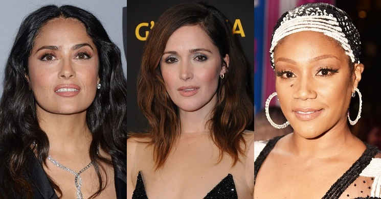 Salma Hayek Rose Byrne e Tiffany Haddish no elenco da comédia Limited Partners