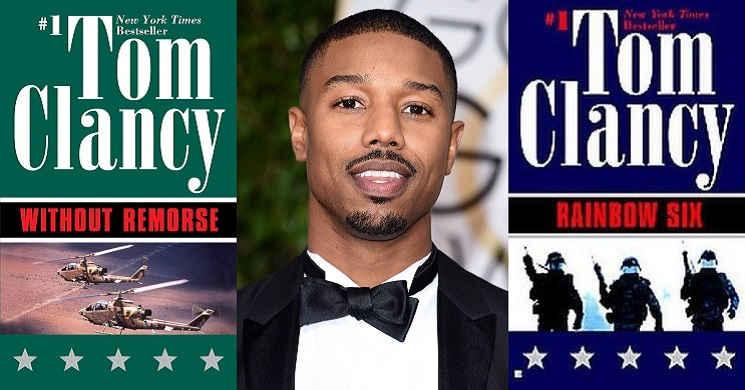 Michael B. Jordan vai interpretar John Clark, personagem de Tom Clancy, em novos filmes