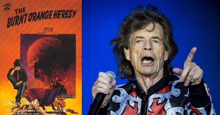 Mick Jagger no elenco do filme The Burnt Orange Heresy