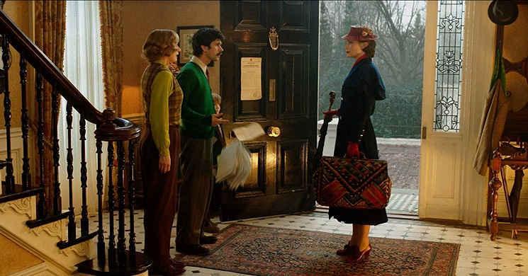 Novo trailer em português do musical O Regresso de Mary Poppins