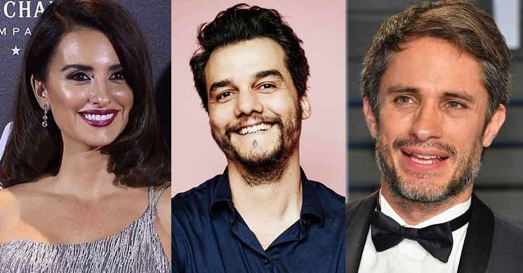 Penélope Cruz, Wagner Moura e Gael Garcia Bernal no elenco de