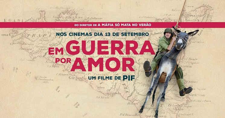 Amor, Sicília e Máfia. Trailer português da comédia romântica