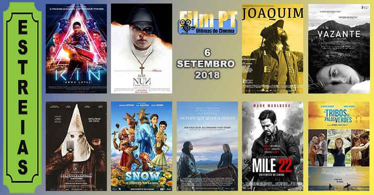 Estreias de filmes nos cinemas portugueses: 6 de setembro de 2018