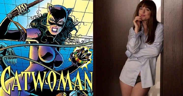 Dakota Johnson revelou o seu interesse em interpretar Catwoman num filme da DC
