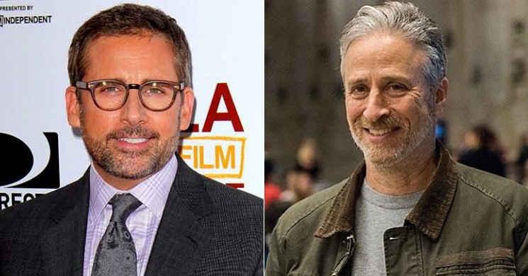 "Steve Carrel poderá ser o protagonista de ""Irresistible"" de Jon Stewart"