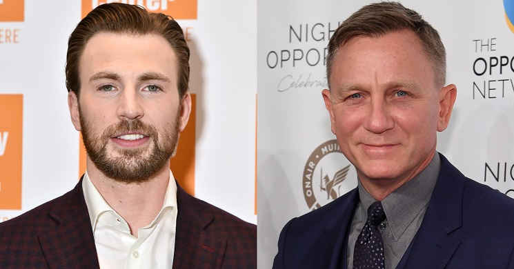 Chris Evans juntou-se a Daniel Craig no elenco do thriller de mistério