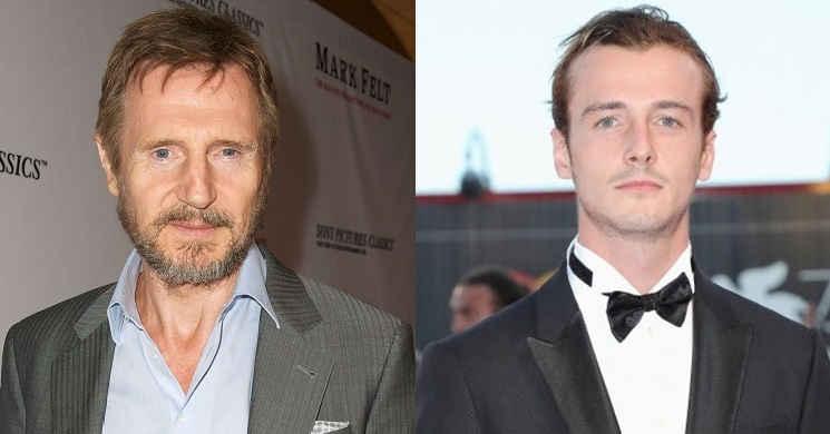Liam Neeson e o filho Micheal Richardson vão protagonizar a comédia