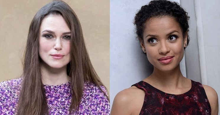 Keira Knightley juntou-se a Gugu Mbatha-Raw no elenco do filme