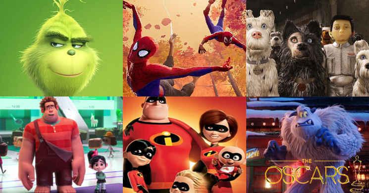 Revelados os 25 filmes pré-selecionados para a corrida ao Óscar de Melhor Animação