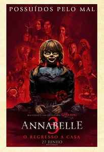 Poster do filme Annabelle 3: O Regresso a Casa