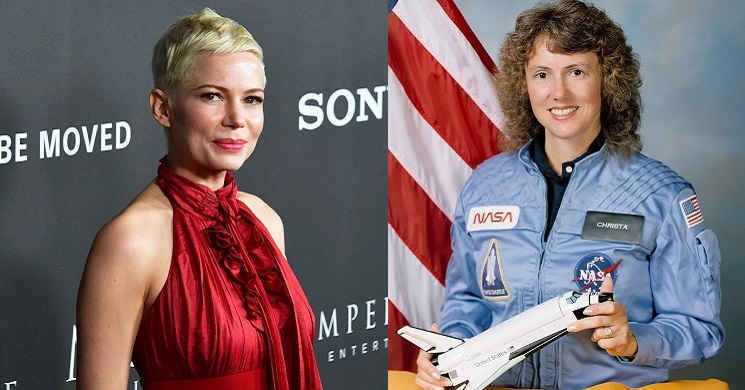 Michelle Williams vai interpretar a astronauta Christa McAuliffe no drama