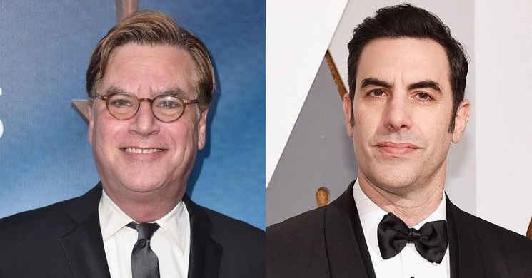 Aaron Sorkin vai dirigir e Sacha Baron Cohen protagonizar o filme The Trial Of The Chicago 7