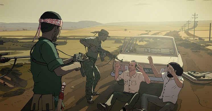 Trailer legendado em português da animação biográfica