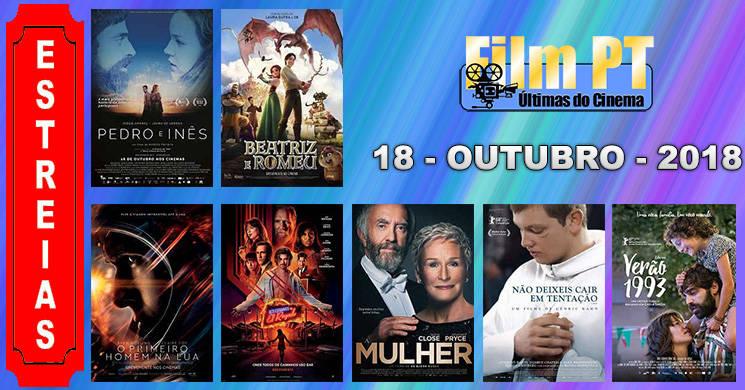 Estreias de filmes nos cinemas portugueses: 18 de Outubro de 2018