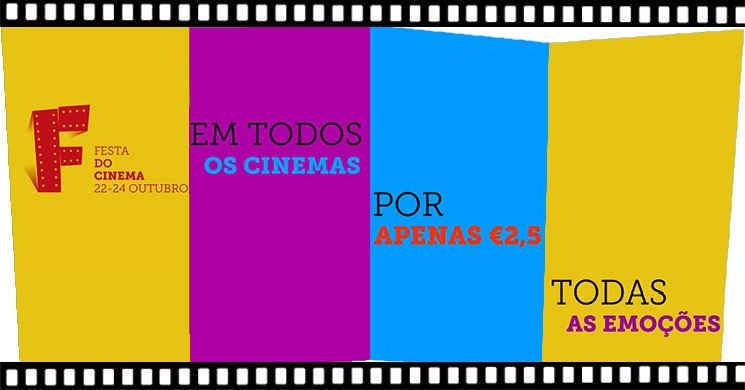 Conheça alguns dos filmes que poderá ver na Festa do Cinema de 22 a 24 de outubro