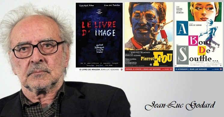 3 filmes de Jean-Luc Godard