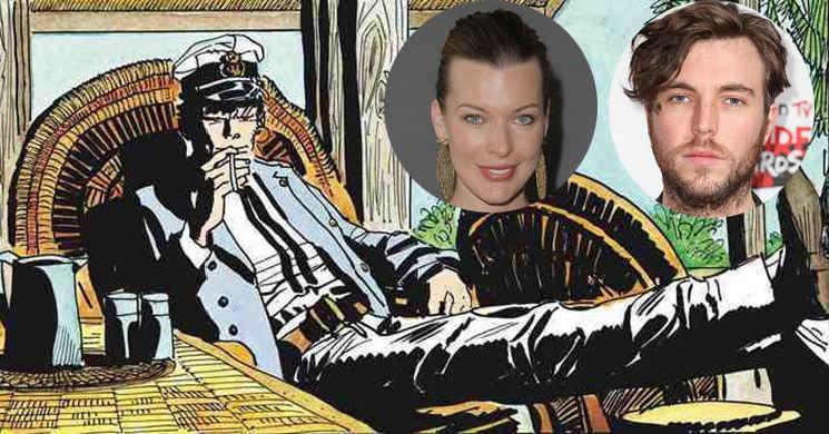 Milla Jovovich e Tom Hughes vão protagonizar o filme Corto Maltese