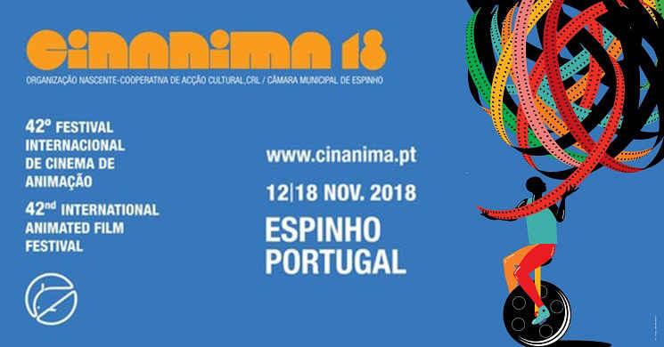 42º Cinanima - Festival Internacional de Cinema de Animação de Espinho de 12 a 18 de novembro
