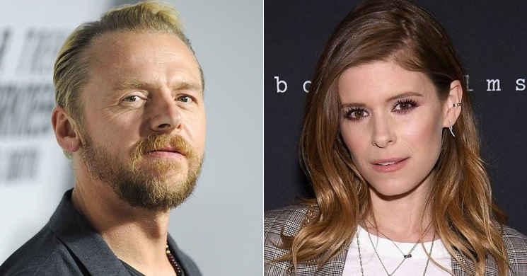 Simon Pegg e Kate Mara protagonistas do thriller Inheritance